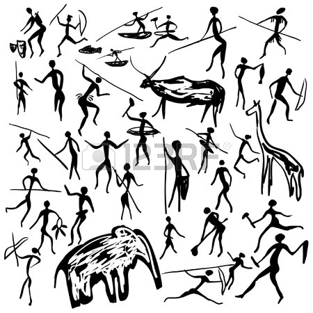 450x450 844 Cave Paintings Cliparts, Stock Vector And Royalty Free Cave