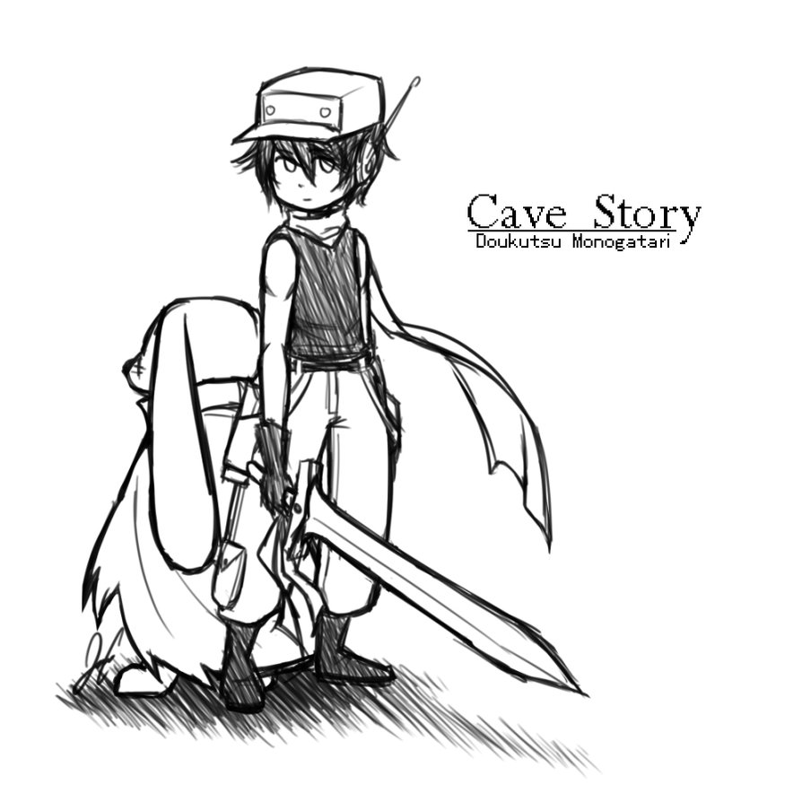 894x894 Cave Story By Jcgurl201