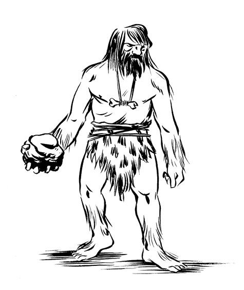 Caveman Drawing