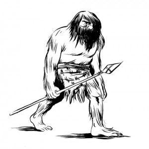 Cavemen Drawing