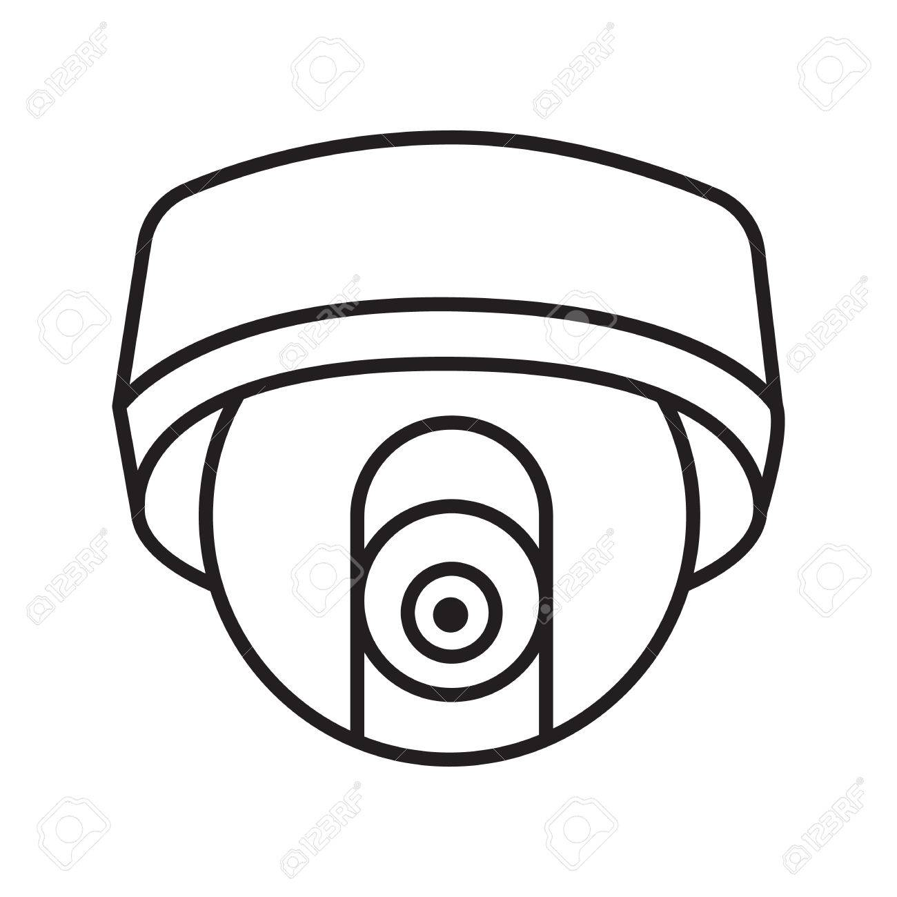 cctv camera drawing at getdrawings com