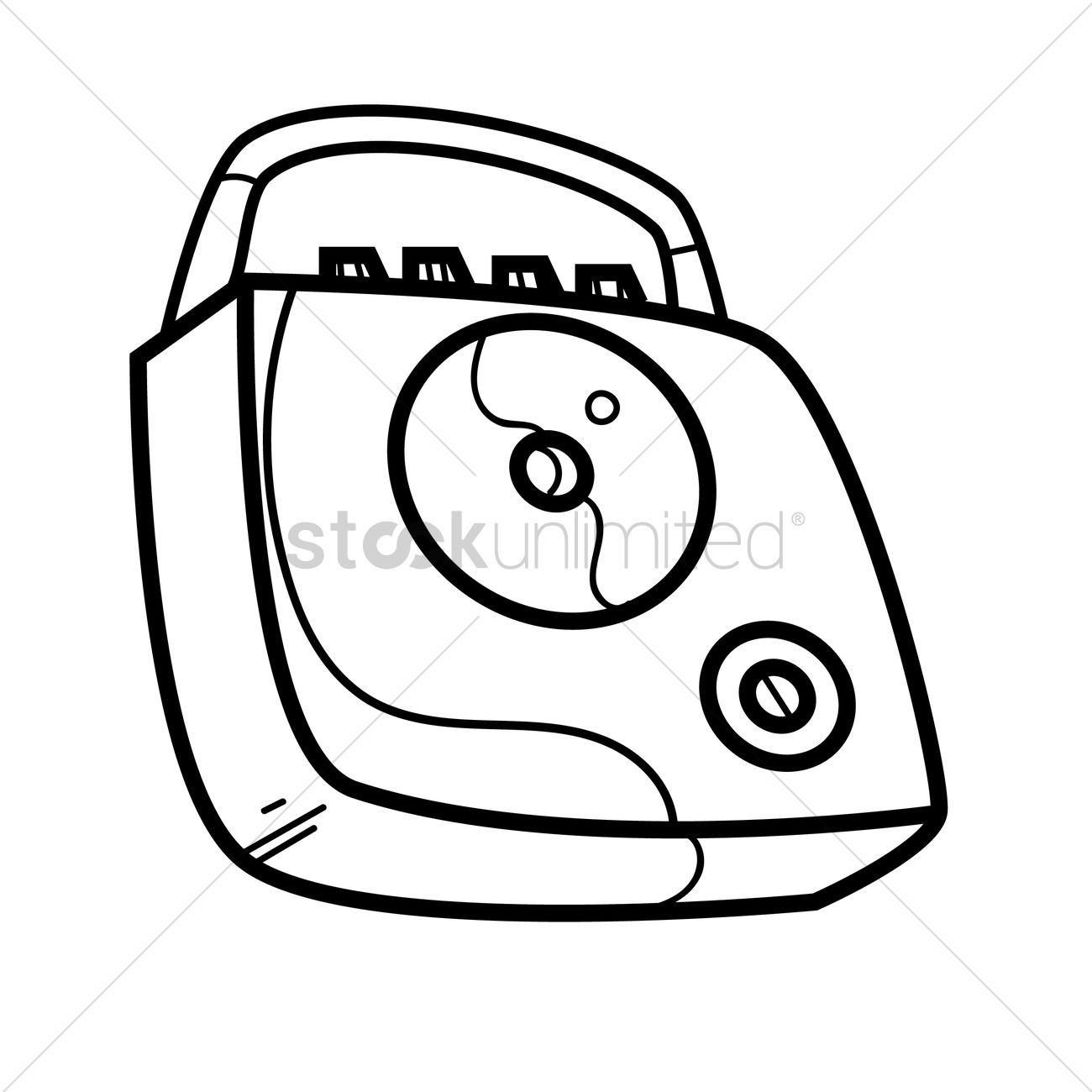 1300x1300 Free Cd Player Vector Image