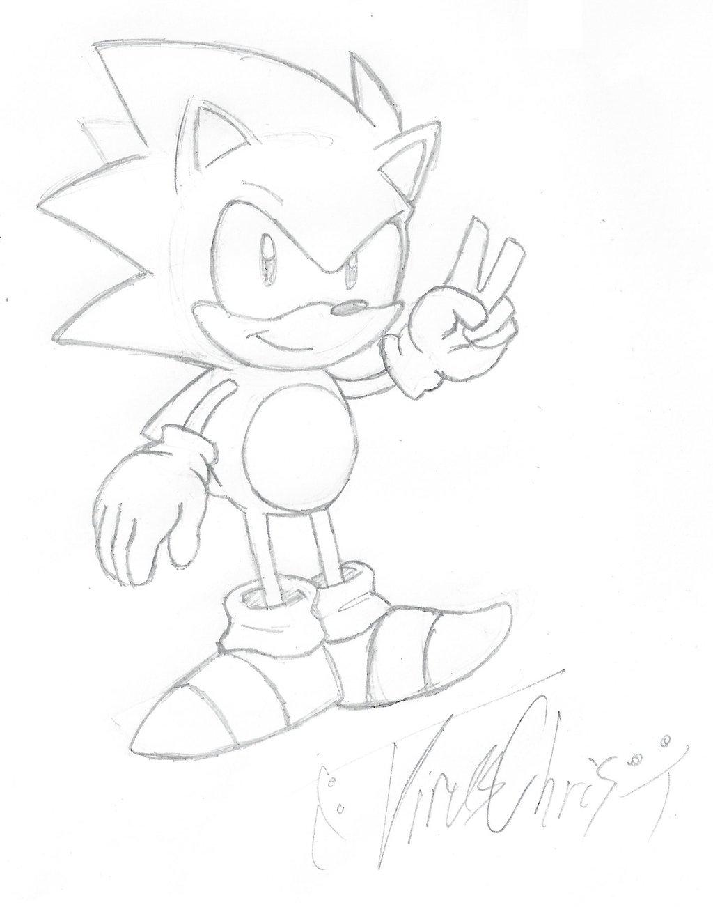 1024x1302 Sonic Sketch