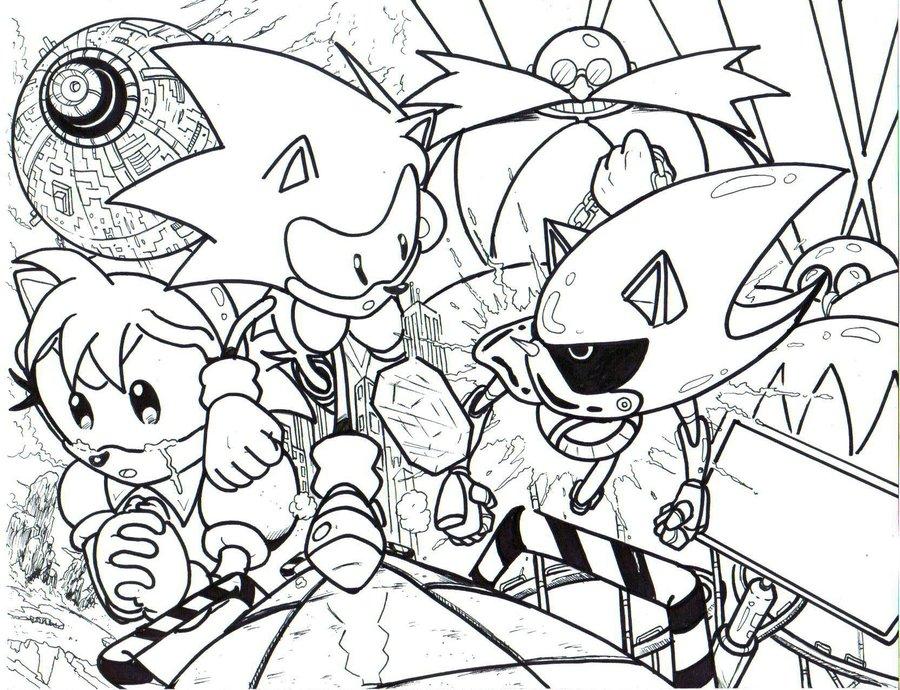 900x690 Sonic Cd La By Trunks24