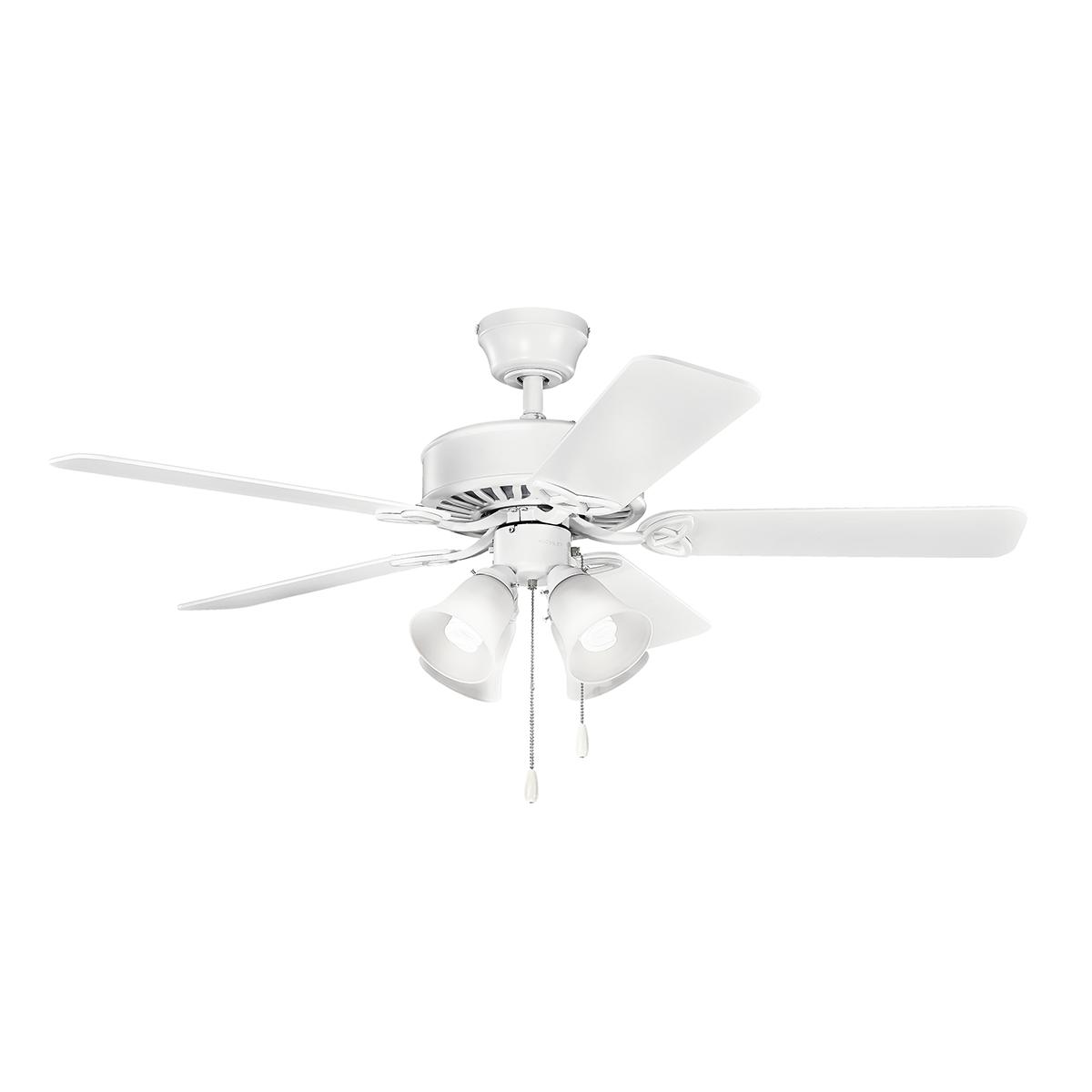 1200x1200 50 Renew Premier Ceiling Fan In Matte White