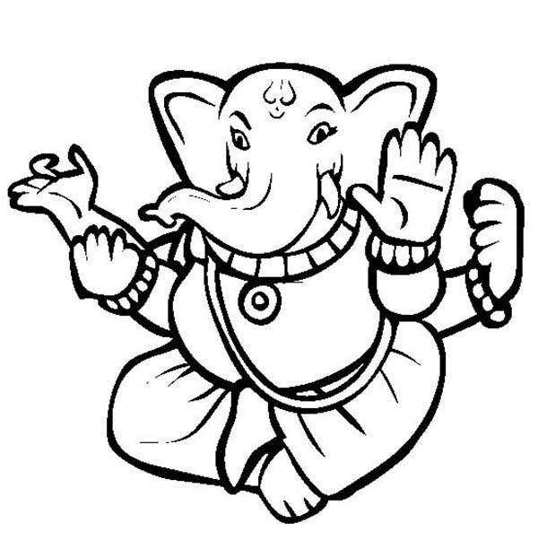 600x612 Divali Is Hindu Festival Of Light Coloring Page