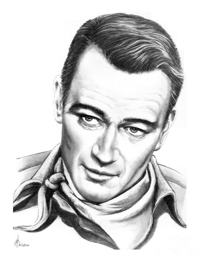 720x900 Drawings Of Famous People, Paintings,colored John Wayne Drawing