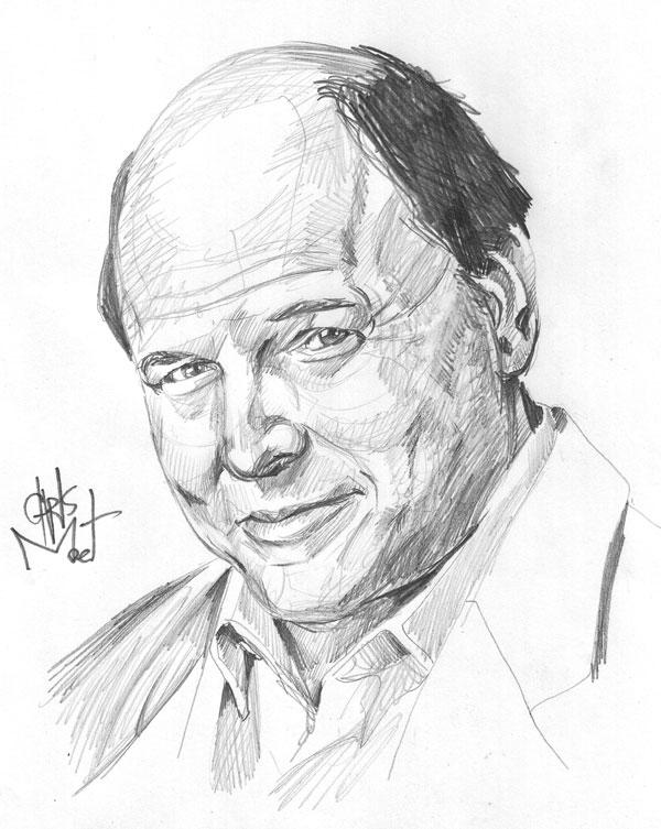 600x753 Jason Alexander Pencil Portraits Pencil Portrait