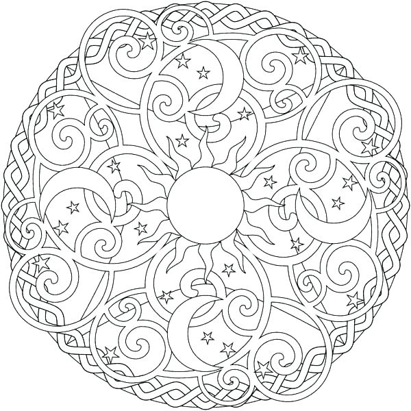600x600 Coloring Pages Of The Sun Coloring Pages Sun Moon Coloring Pages