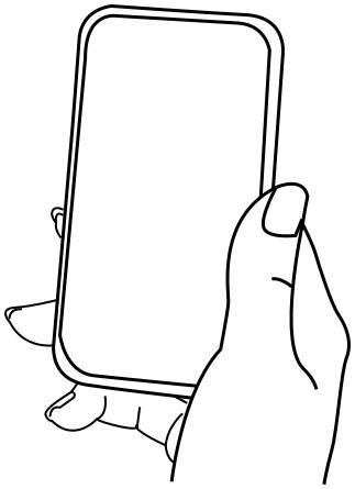 323x445 Cellphone Blank