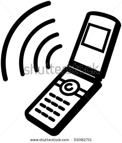 401x470 Cell Phones Logos Clipart