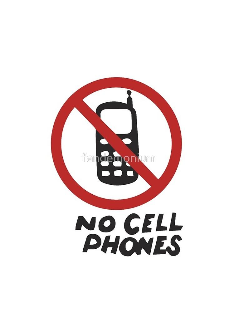 750x1000 Luke's Diner No Cell Phones T Shirt