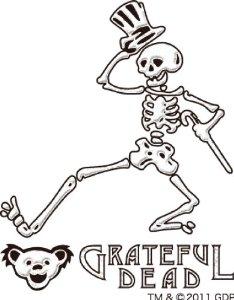 234x300 Grateful Dead Dancing Skeleton Makie Cell Phone