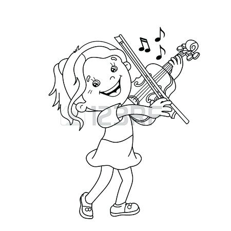 free cello coloring pages - photo#38