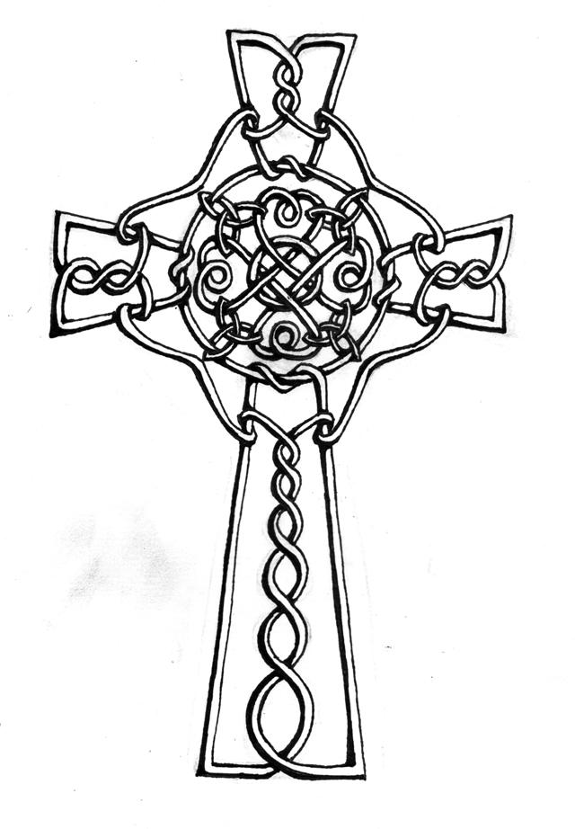 640x922 Celtic Cross By Izabeth
