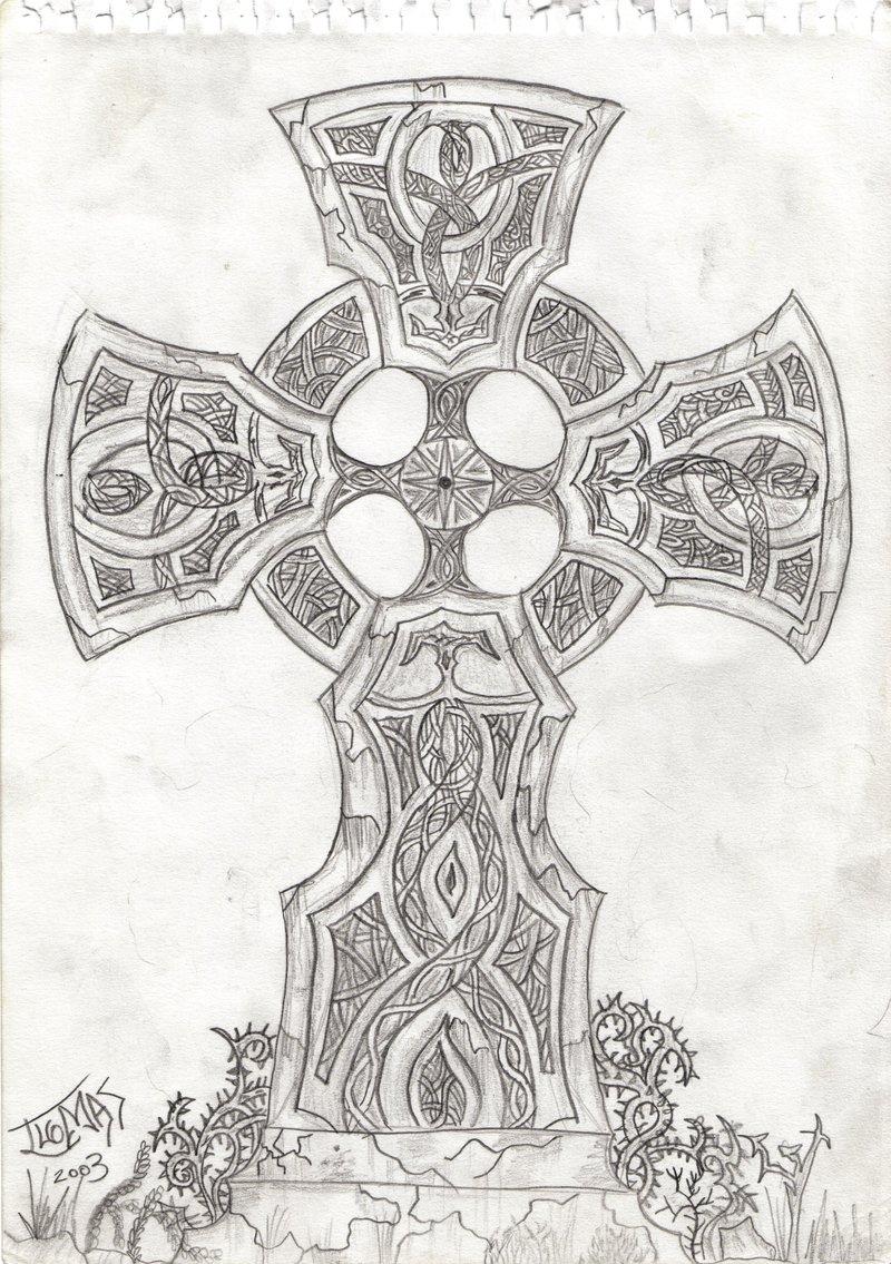 800x1135 Celtic Cross By Overi
