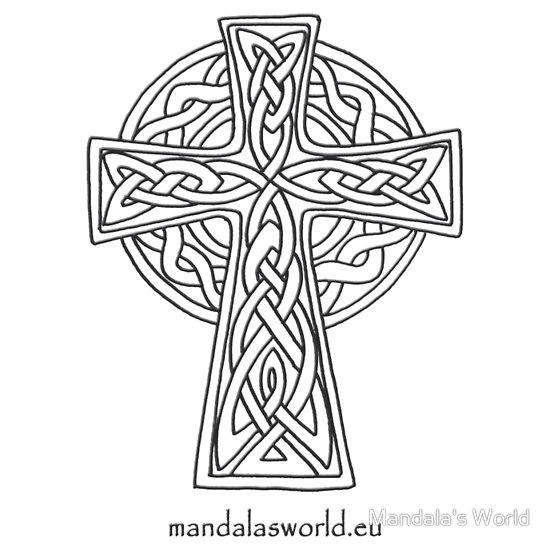 550x550 Cross Drawing Irish St. Patty Cross Drawing