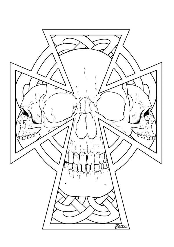 600x849 Celtic Cross By Zimprich