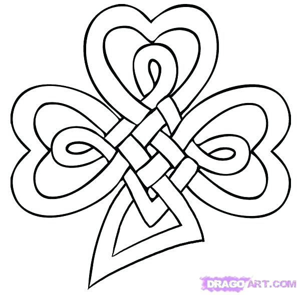 597x590 Ideal Celtic Knot Coloring Pages Fee