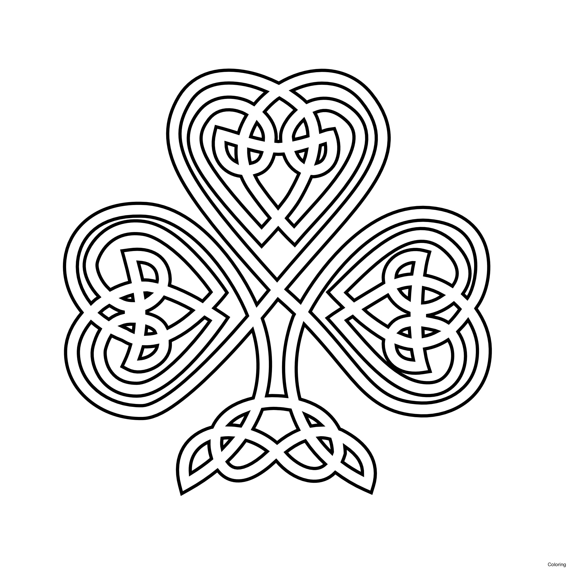 how to draw a celtic knot cross