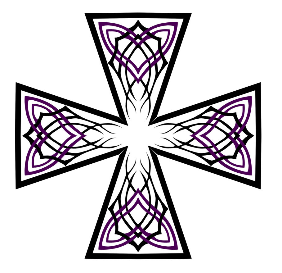 Celtic Cross Line Drawing at GetDrawings com   Free for