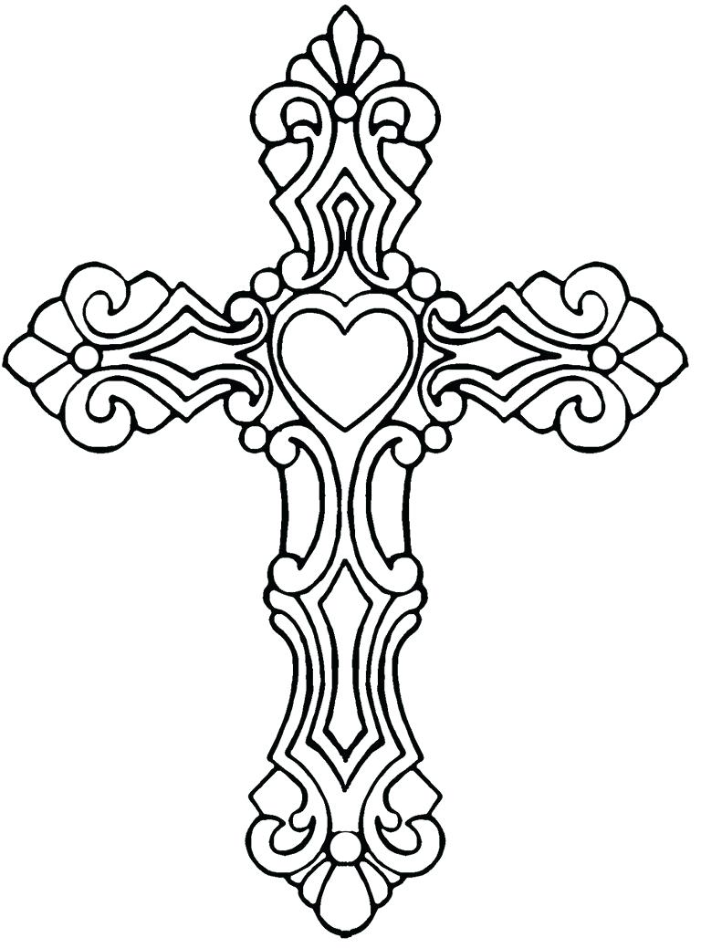 Celtic Cross Line Drawing at GetDrawings.com | Free for personal use ...