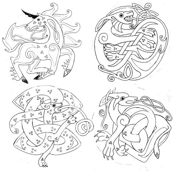 Celtic Designs Drawing