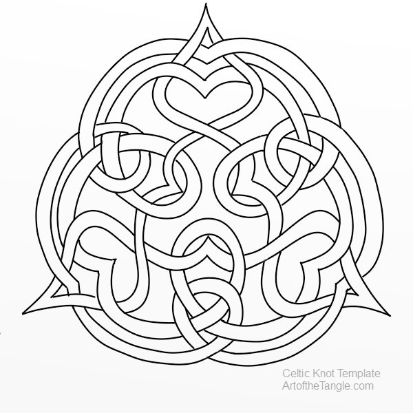 600x600 Celtic Knots Easy Techniques For Drawing And Designing Celtic Knots