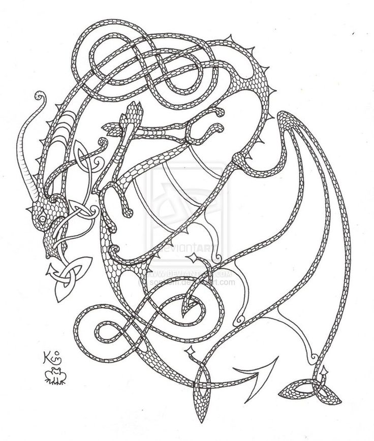 Celtic Designs Drawing At Getdrawings Free For Personal Use