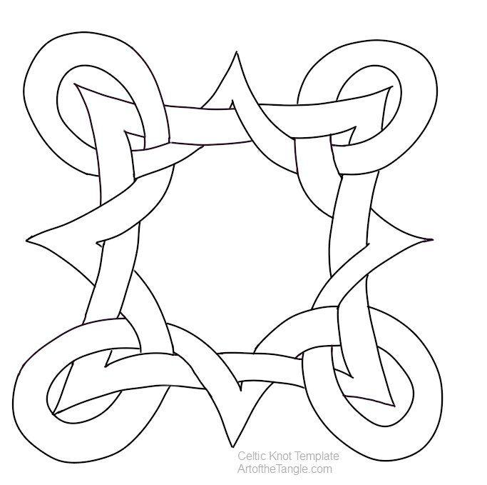 683x679 Celtic Knot Templates Celtic Knots, Celtic And Knots