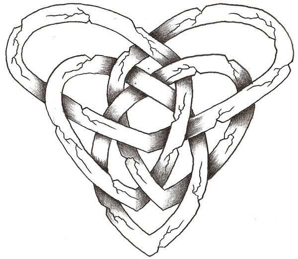 600x522 Celtic Stone Heart By Thelob