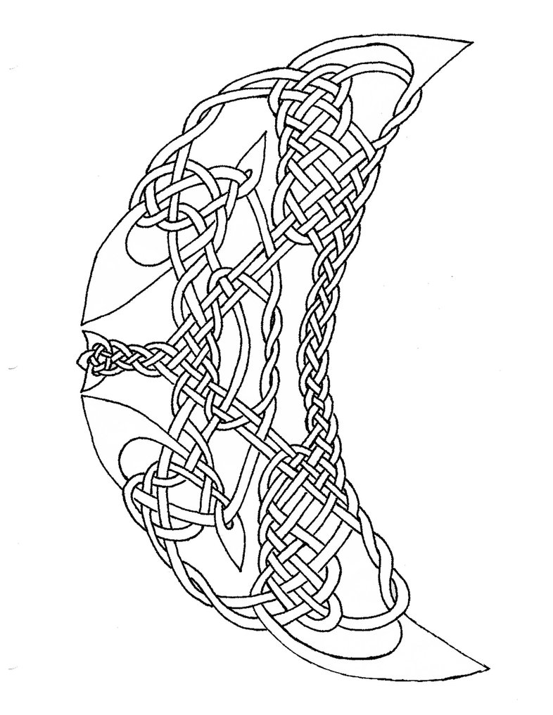 Celtic Knot Drawing At GetDrawings
