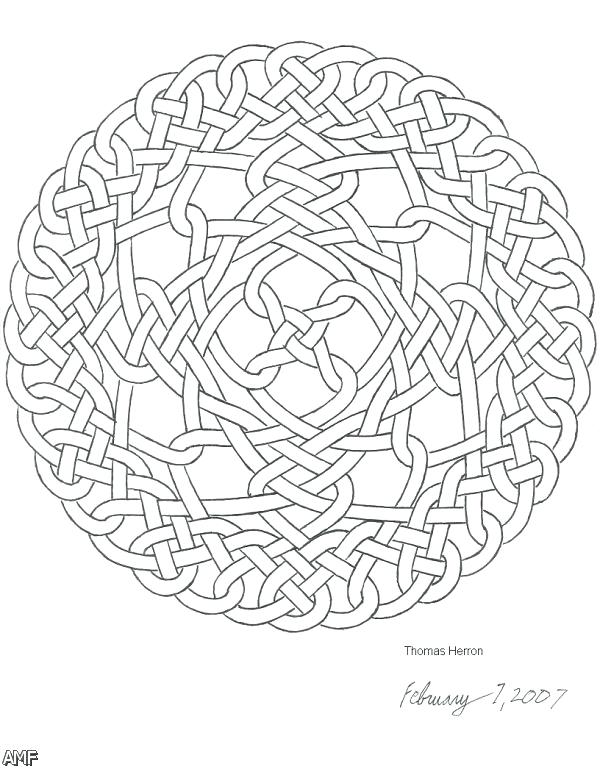 600x772 Celtic Designs Coloring Pages Adult Knot