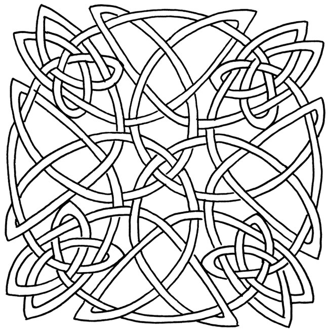 650x653 Celtic Knot Art At One Point I Loved Painting These Still Love