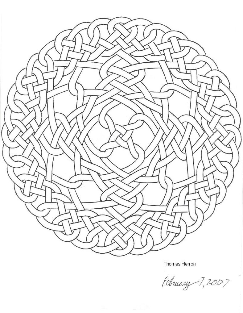 788x1014 Celtic Knot Coloring Pages To Download And Print For Free 1