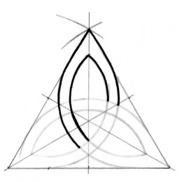 260x260 How To Draw A Triquetra With 10 Steps And A Compass Triquetra