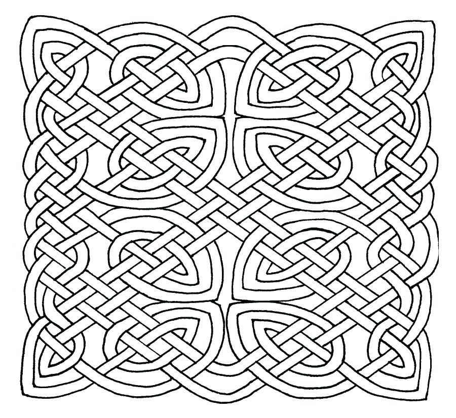 900x825 Perfect Celtic Knot Coloring Pages Kids To Print A Heart