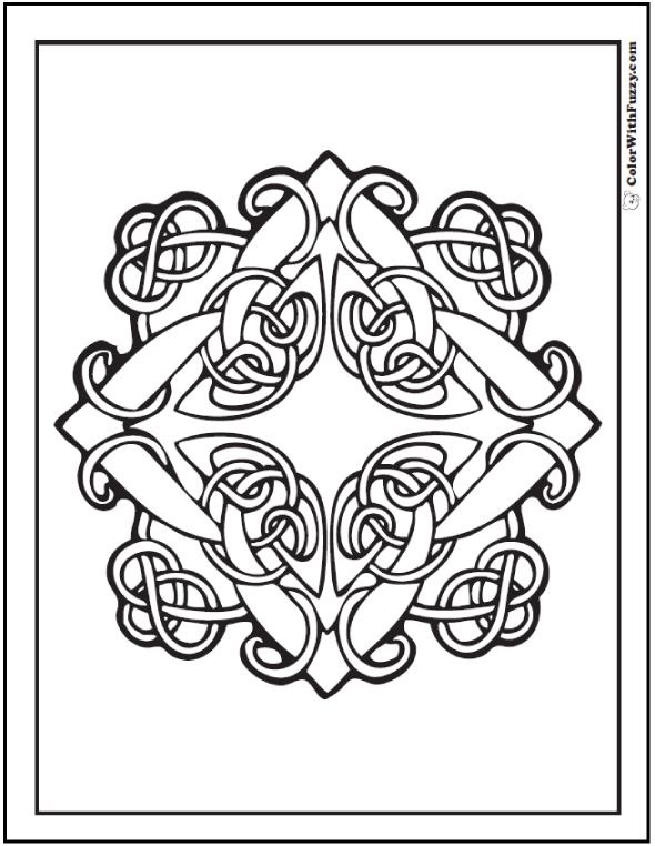 Celtic Knot Drawing Step By Step At Getdrawings Free For