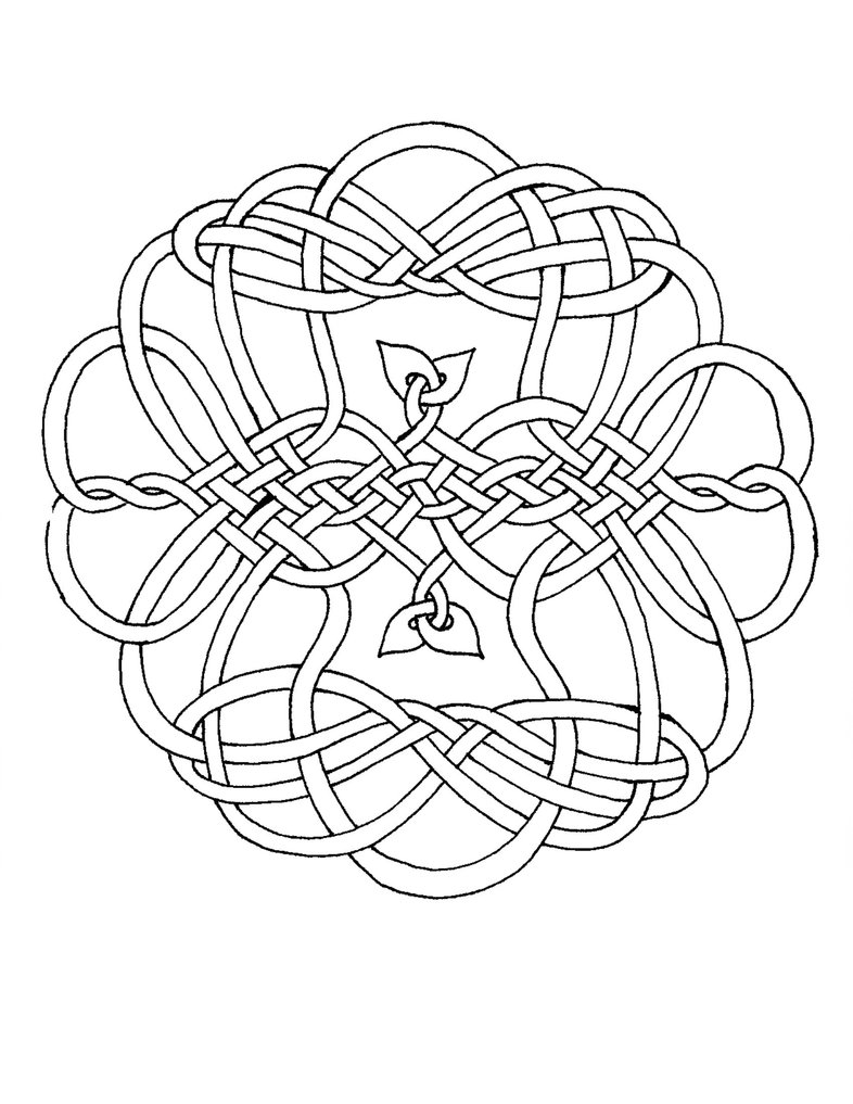 786x1017 This Is One Of My Many Celtic Knots Which I Have Formatted To Be