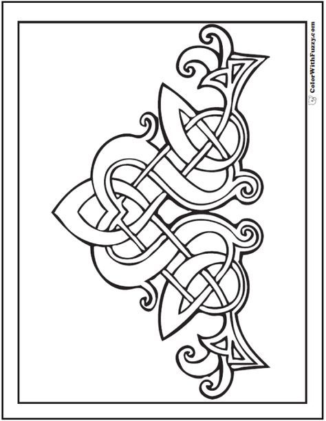Celtic Knots Drawing