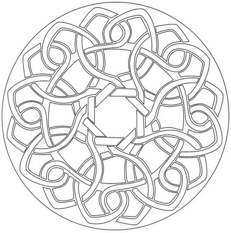 Celtic Knots Drawing At Getdrawings Com Free For Personal Use