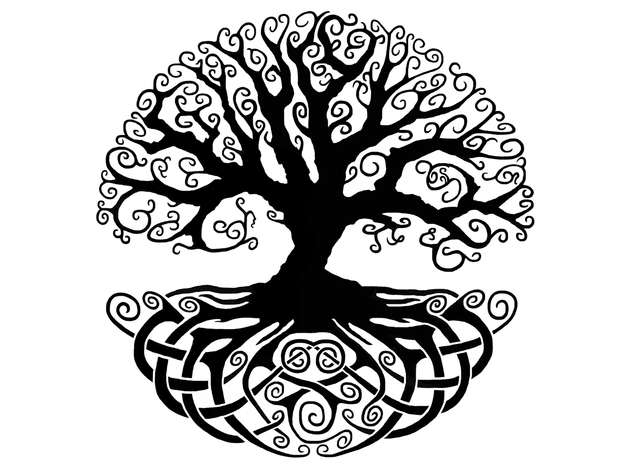 celtic tree of life drawing at getdrawings com free for personal