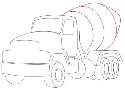 400x285 6. Add The Cement Barrel