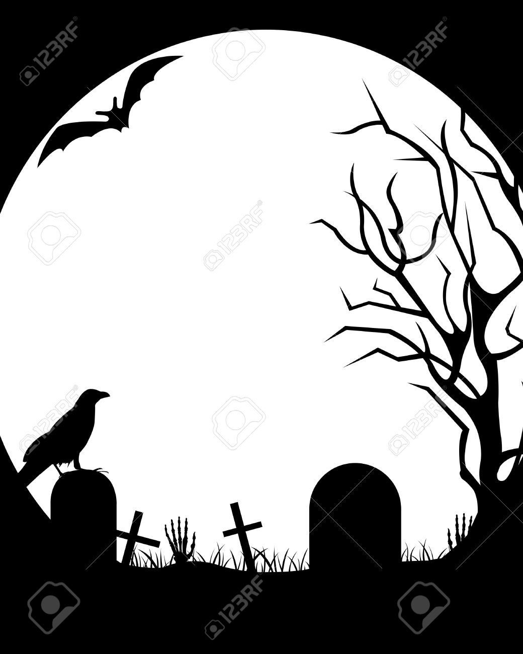1040x1300 Image Result For Cemetery Drawing Simple Ideas Clipart Halloween