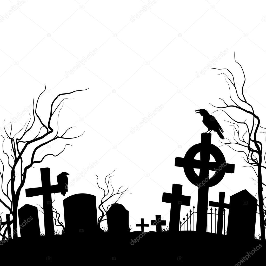 1024x1024 Cemetery Stock Vector Dvargg
