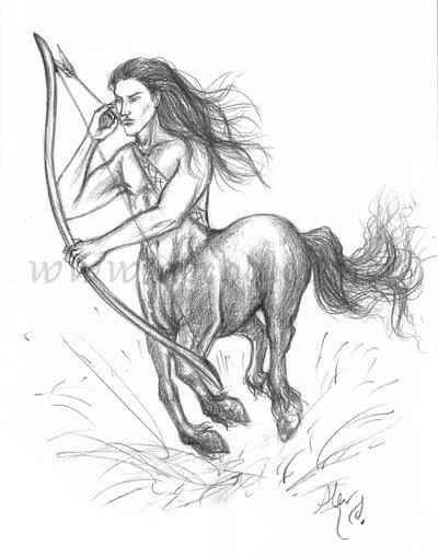 400x510 Centaur Sketch By Aerhalev