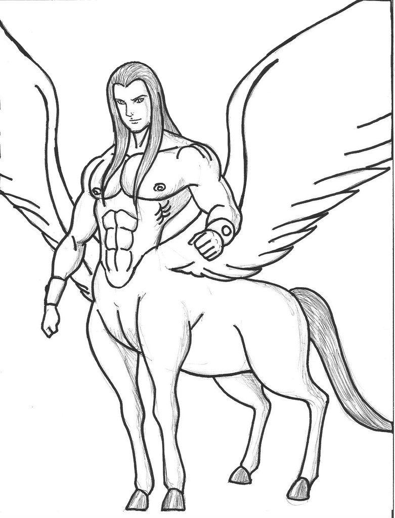781x1023 Winged Centaurs Centaurs Centaur And Kids Net