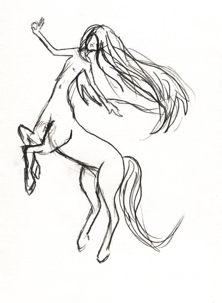 766x1043 Female Centaur By Ze1a13