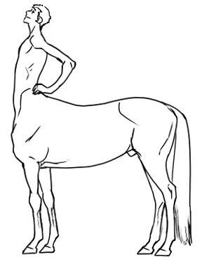 298x366 Not Only Lazy, But Smart Too, Super Quick Centaurhorse Body Tutorial!