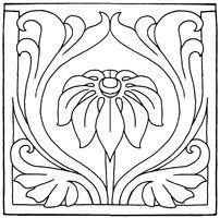 202x200 Ottoman Pattern Art Nouveau Patterns Ottomans